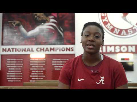Alabama Gymnastics: Hunter Dennis' Holiday Joy
