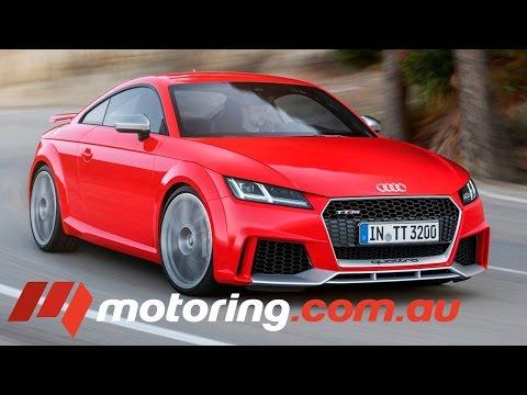 2016 Audi TT RS Review