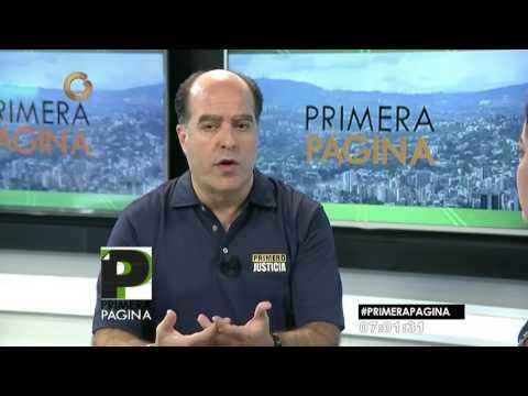 Julio Borges: El mundo entero pide elecciones en Venezuela