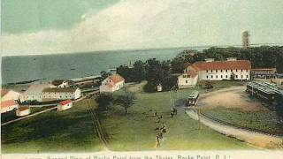 """A Trip To Rocky Point"" with vintage post cards"