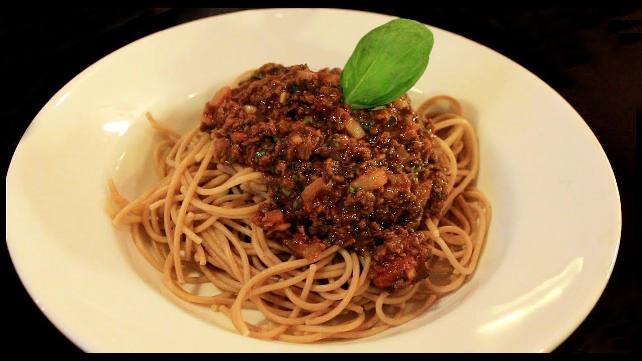 soijarouhe spagettikastike