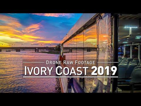 【4K】Drone RAW Footage | IVORY COAST 2019 ..:: Abidjan | UltraHD Stock Video