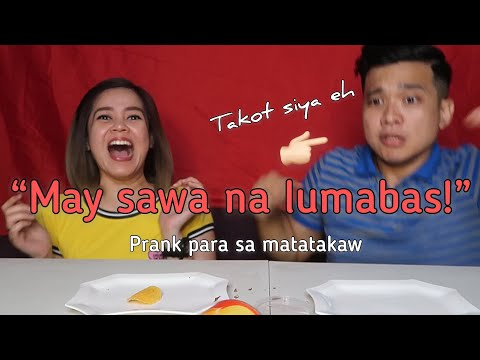 MAY SAWA SA POTATO CHIPS PRANK ON BOYFRIEND! (TASTE TEST CHALLENGE WITH A SURPRISE SAWA)