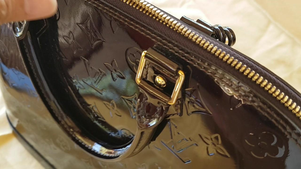 Louis Vuitton Alma MM Amarante - Real Bag - YouTube 86161bfd2969c