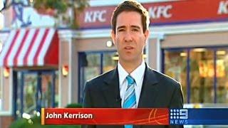 Food poisoning court | Nine News | 2009