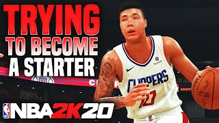 TRYING TO BECOME A STARTER! PLAYING HARDEN & WESTBROOK! NBA 2K20 MyCareer