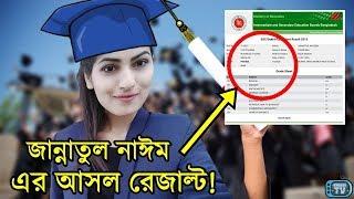 জান্নাতুল নাঈম এভ্রিল এর SSC ও HSC এর আসল রেজাল্ট দেখুন! | Jannatul Nayeem Avril Miss World Bangla