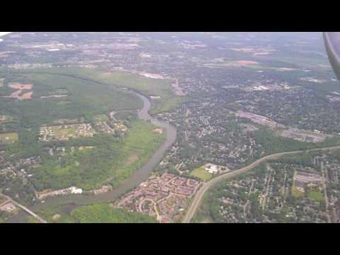 Flying Over Syracuse New York