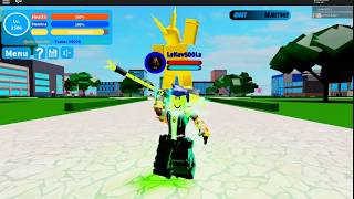 Boku No Roblox new Code and new Boss ALL FOR ONE!!