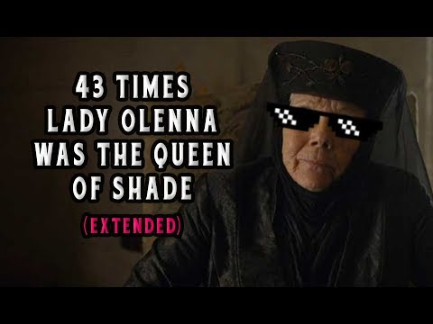 "43 Times Lady Olenna From ""Game of Thrones"" Was The Queen of Shade (Extended)"