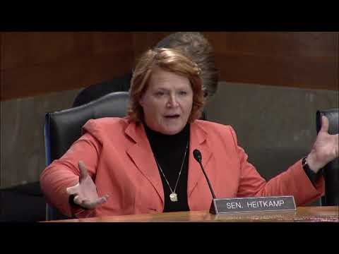 Heitkamp Discusses Federal Response to Hurricanes at U.S. Senate Committee Hearing