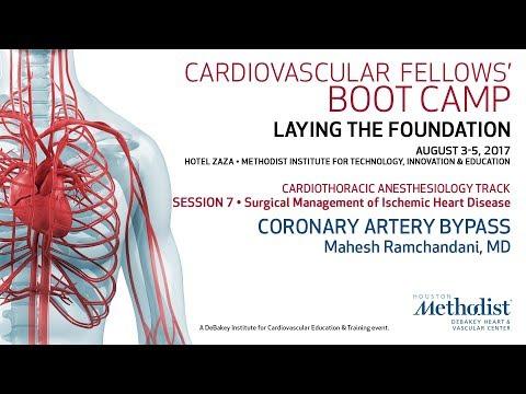 Coronary Artery Bypass (Mahesh Ramchandani, MD)
