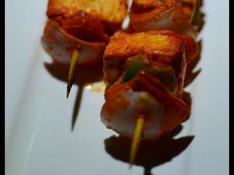 Paneer Tikka Recipe (In Oven) Paneer Recipes @ Guru's Cooking