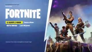 [FR/Ps4/Live] Skin Ventura Disponible ! Fortnite Battle Royale !!!