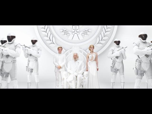 """헝거 게임: 모킹제이 - 바이럴 영상 - 스노우 대통령의 판엠 연설 #2 """"Unity"""" (한글자막)"""