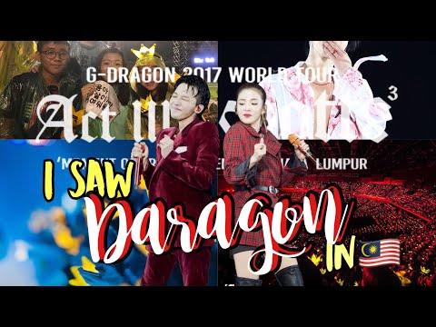 I saw Daragon in Malaysia!!😍🔥 [Act III: Motte in Kuala Lumpur 2017 vlog]