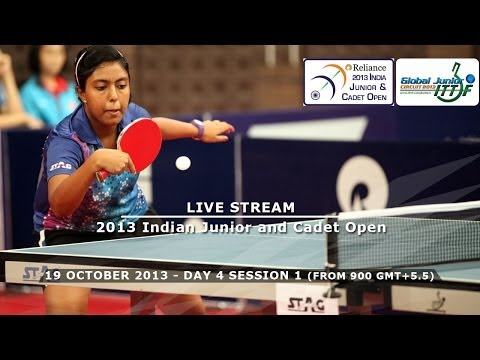 Reliance 2013 Indian Junior & Cadet Open - Day 4 Morning Session