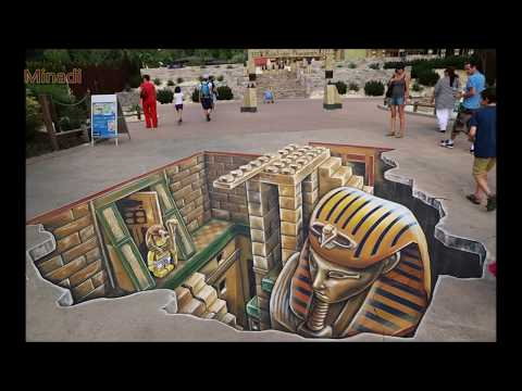 Creative 3D Street Chalk Art that Will Blow Your Mind