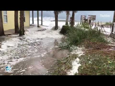 Huracán Florence se degrada pero mantiene riesgo sobre costa de EU