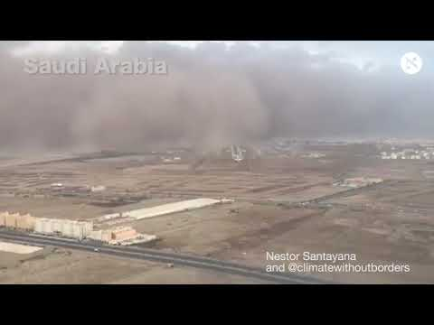 Flash floods and stormy weather across the Middle East