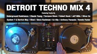 Detroit Techno Mix 4 | With Tracklist | Vinyl Mix