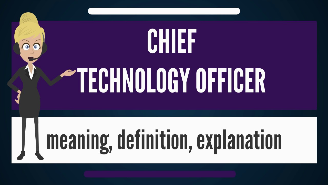 What is chief technology officer what does chief - Chief information technology officer ...