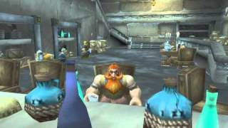 Robin Williams Golf Skit set in World of Warcraft.