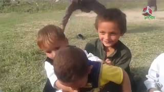 little kids fight in  playground funny ON FUN MAZA hd 2018