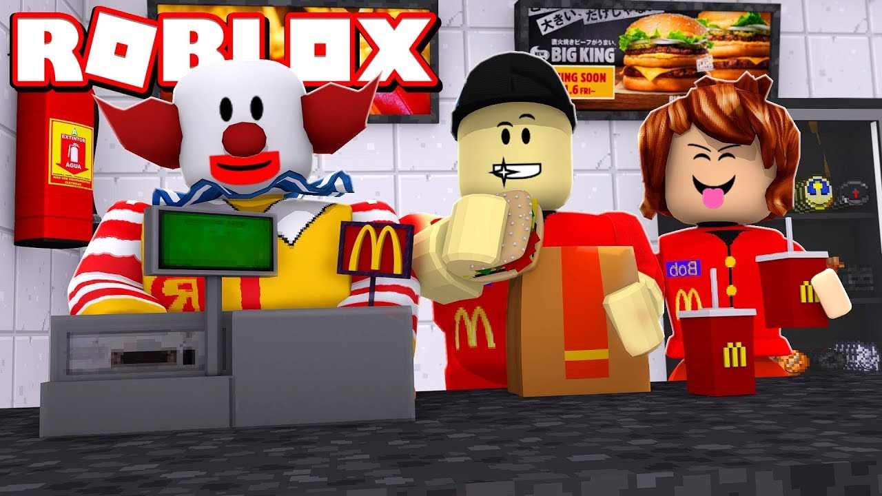 Building And Running My Own Ultimate Mcdonalds In Roblox Youtube