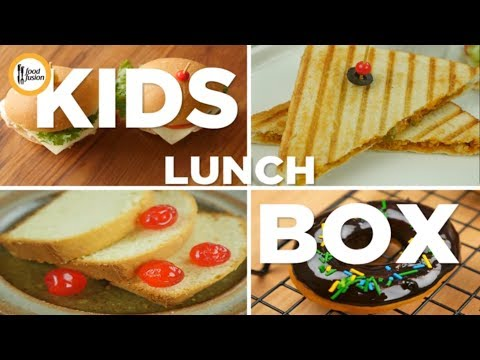 Kids Lunch Box Recipe By Food Fusion