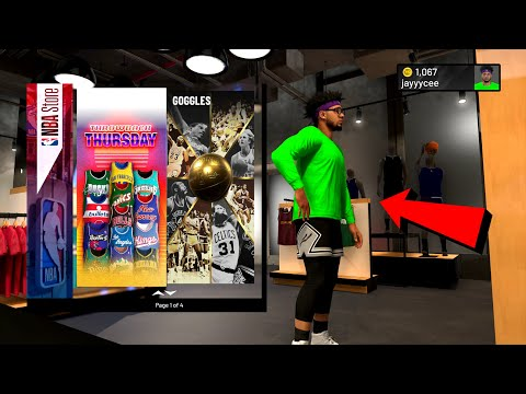 NBA 2K20 NEW GOGGLES ARE BACK IN NBA 2K NEW THROWBACK JERSEYS NBA STORE NBA 2K20 DRIPPIEST OUTFITS!