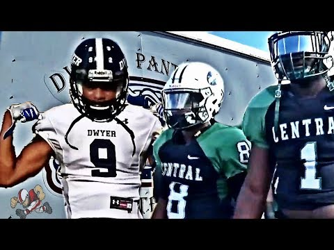 🔥🔥👀Miami Central vs Palm Beach Dwyer | Footballville High School Football Highlights