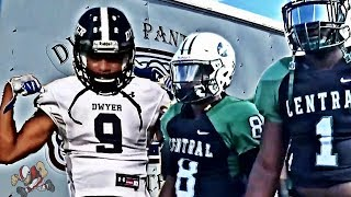 🔥🔥👀#10 Miami Central vs Palm Beach Dwyer | Footballville High School Football Highlights