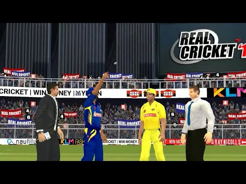 28th April IPL 11 Chennai Super Kings Vs Mumbai Indians Real cricket 2018 mobile Gameplay