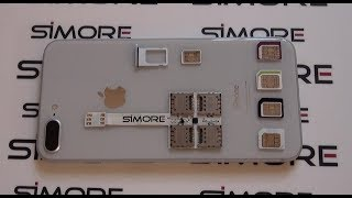 iPhone 8 Plus Multi SIM adapter - Use 5 SIMs on the iPhone 8 Plus with SIMore WX-Five 8 Plus