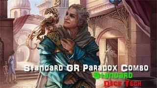 standard gr infinite paradox combo deck tech