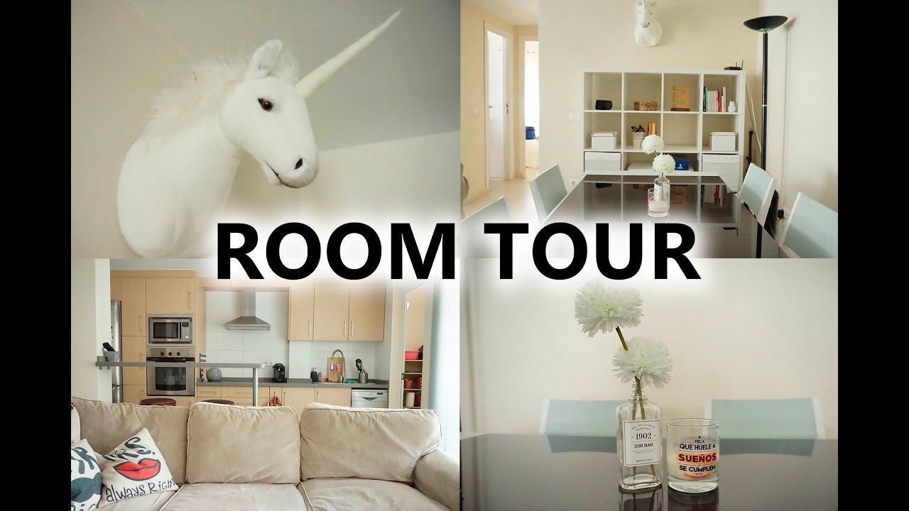 Room tour espacio abierto con sal n y cocina pretty and for Cocina salon espacio abierto