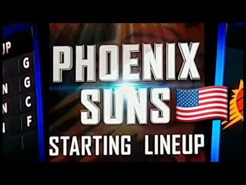 LA Clippers vs Phoenix Suns Watching live @ Staples Center Los Angels