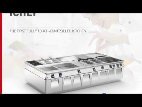 ICHEF - The First Fully Touch-controlled Kitchen