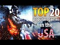 ✅ TOP 20 of the most popular PC games in the USA (2018). 🔥 What Americans play 👍 US Games Trends.