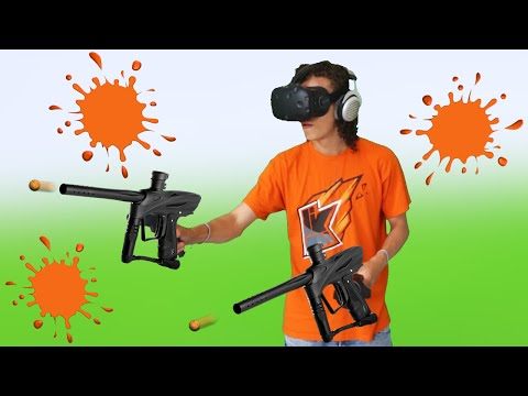 PAINTBALL IN VR! (HTC VIVE)