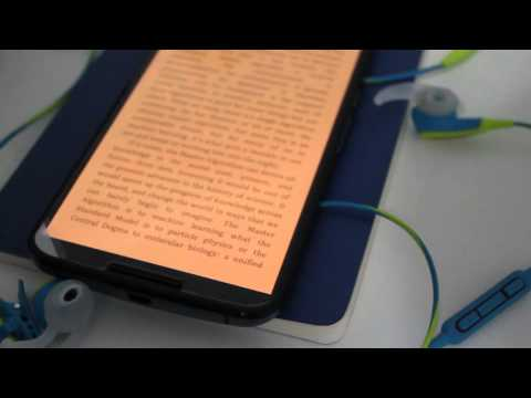 Google Play Books Night Light Update