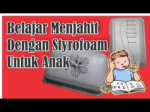 belajar-menjahit-dengan-styrofoam-untuk-anak