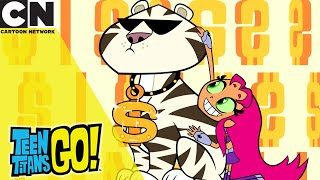 Teen Titans Go! | Super Rich | Cartoon Network UK 🇬🇧