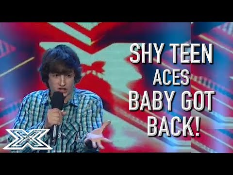 Shy Teen SMASHES Baby Got Back! | X Factor Global