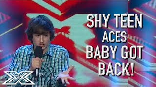 shy teen smashes baby got back x factor global
