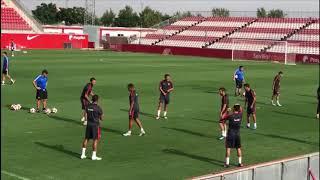 El Sevilla Prepara el Duelo de Europa League ante el Zalgiris