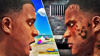 FRANKLINS Finds His EVIL TWIN In GTA 5 (Crazy)