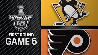 Pittsburgh Penguins vs Philadelphia Flyers – Apr. 22, 2018 | Game 6 | Stanley Cup 2018. Обзор