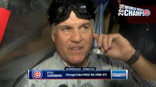 Sandberg happy to 'live in the moment' of Cubs' Game 7 win